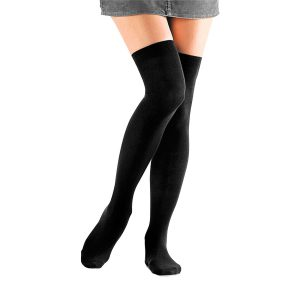 Set of 3 Cotton Knee High Socks