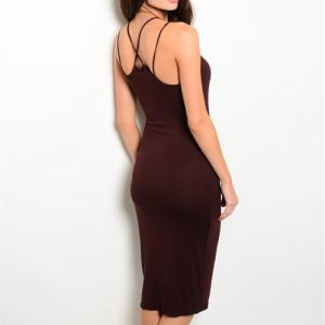 Brown Tank Dress
