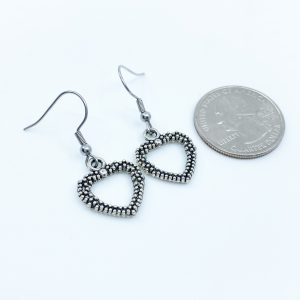 Handmade Heart Earrings
