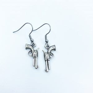 Handmade Revolver Earrings