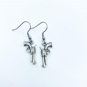 Handmade Revolver Earrings