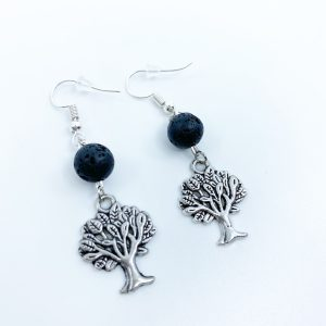 Handmade Tree Of Life Earrings