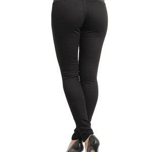 Black Mid Rise Pants