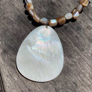 All Natural Handmade Shell Necklace