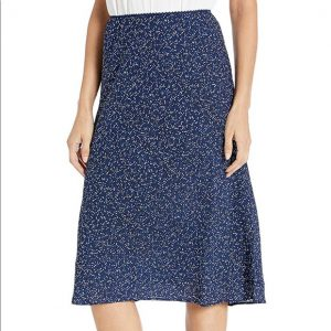 Max Studio Navy Maxi Skirt