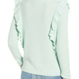 Splendid Mint Green Knit Sweater