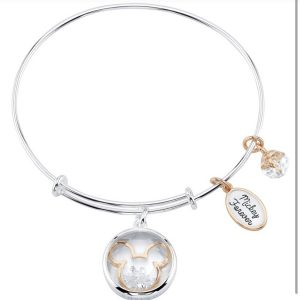 Disney Stainless Steel Charm Bracelet