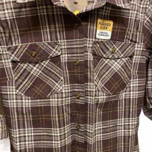 Carhartt Burgundy Plaid Button-Up