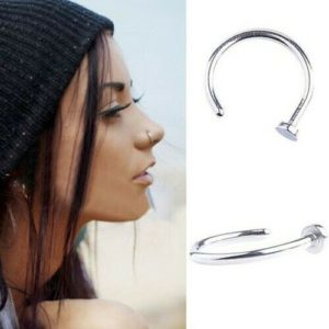 Stainless Steel Nose Ring Hoops